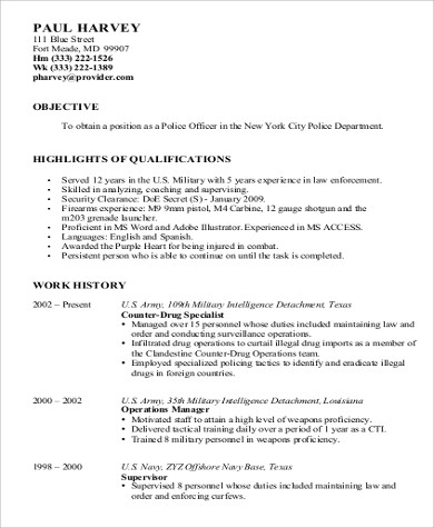 Cover Letter Example For Police Dispatcher